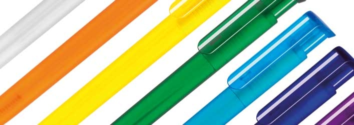 Printed pen colours