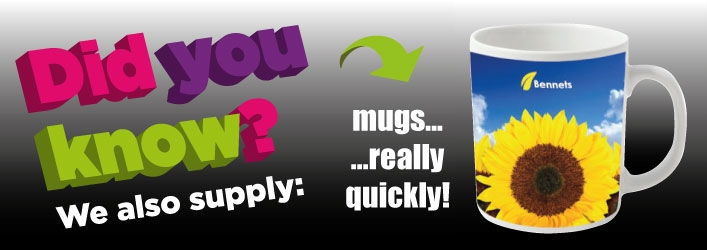 DYK really quick printed mugs