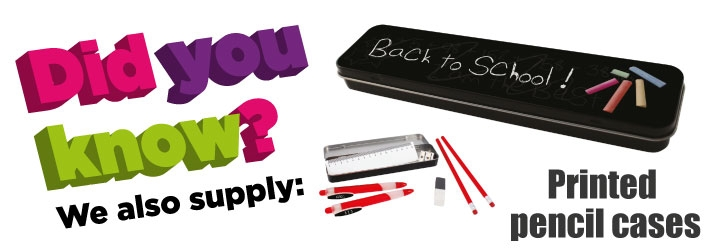 Promotional pencil cases